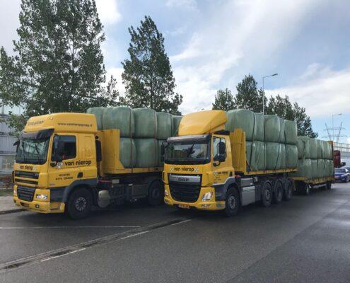 Beide DAF's transport