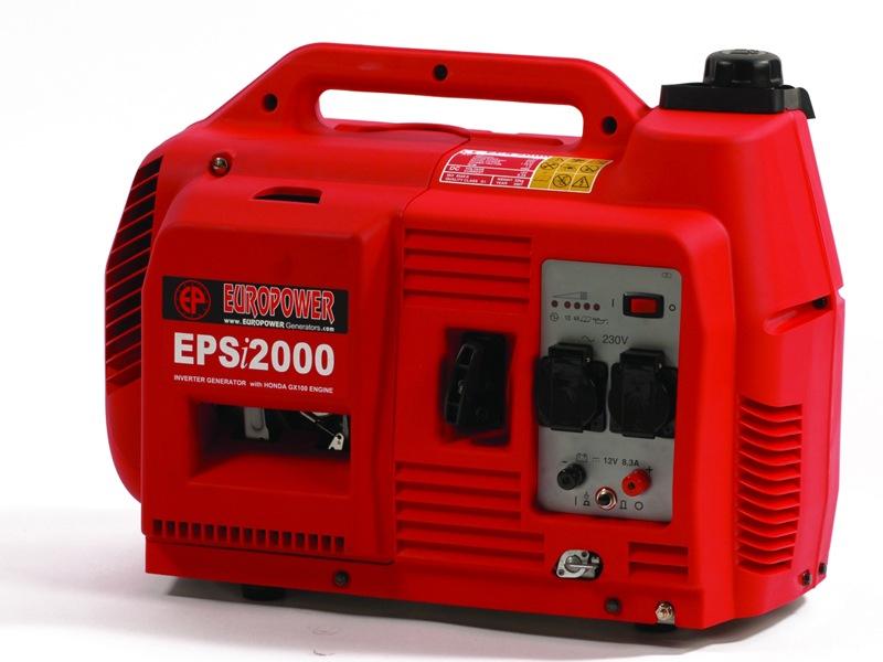 Aggregaat Europower Geluidgedempt EPSi2000 2 KVA